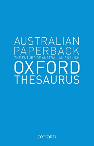 9780195510584: Australian Oxford Paperback Thesaurus
