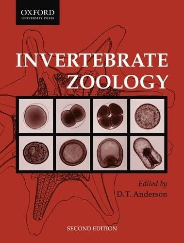 Invertebrate Zoology: Anderson, D. T.