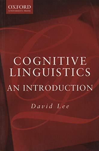 9780195514247: Cognitive Linguistics: An Introduction