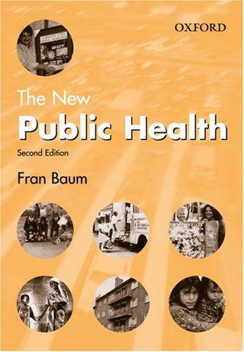 9780195515527: The New Public Health (Medicine)