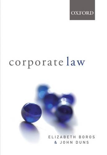 9780195515756: Corporate Law
