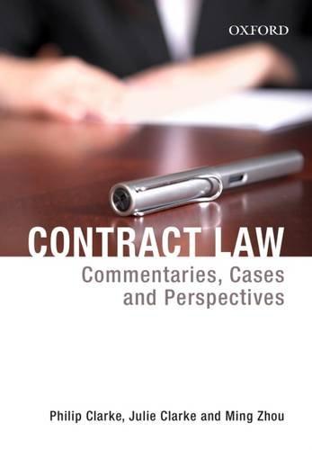 Contract Law: Philip Clarke; Julie Clarke; M