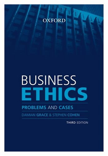 9780195517279: Business Ethics: Problems and Cases