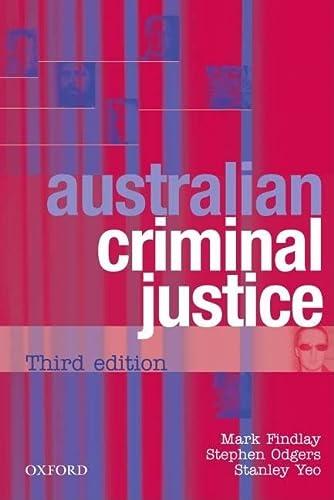 9780195517385: Australian Criminal Justice