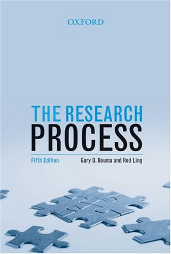 9780195517460: The Research Process