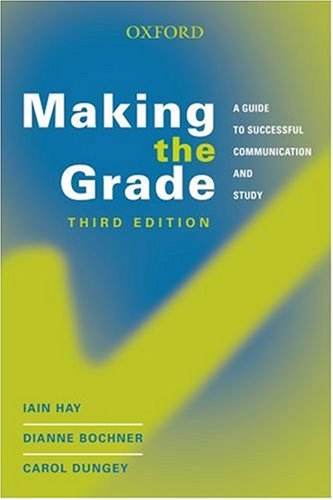 9780195517590: Making the Grade: A Guide to Successful Communication and Study