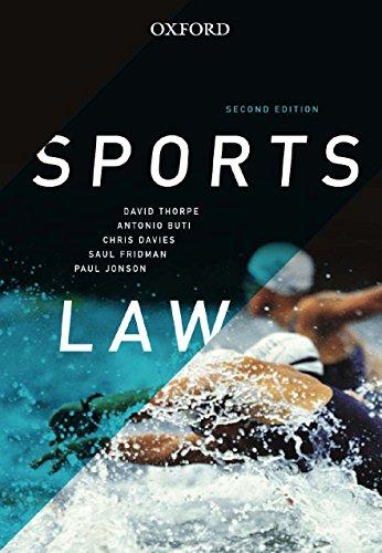 9780195518528: Sports Law