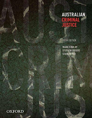 9780195521153: Australian Criminal Justice