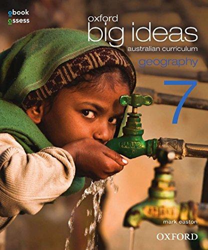 Oxford Big Ideas Geography 7 Australian Curriculum Student Book + Obook (Paperback): Mark Easton
