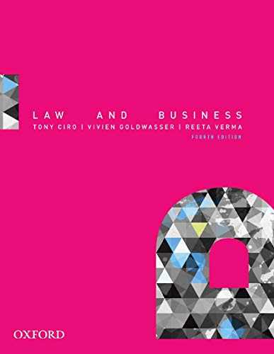 9780195524048: Law and Business