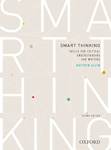 9780195524055: Smart thinking: Skills for critical understanding and writing, Second Edition - Re-issue