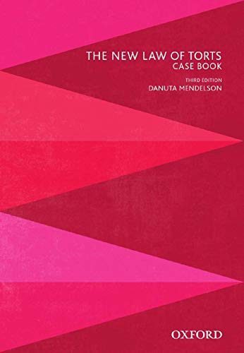 9780195525076: The New Law of Torts Case Book