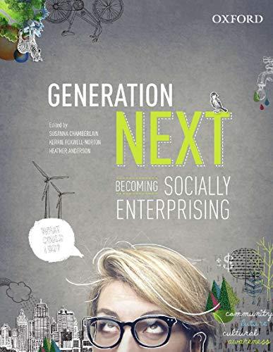 9780195527896: Generation Next: Becoming Socially Enterprising