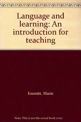 9780195531237: Language and learning: An introduction for teaching