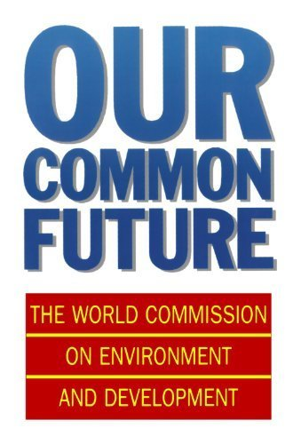 9780195531916: Our Common Future: World Commission on Environment and Development