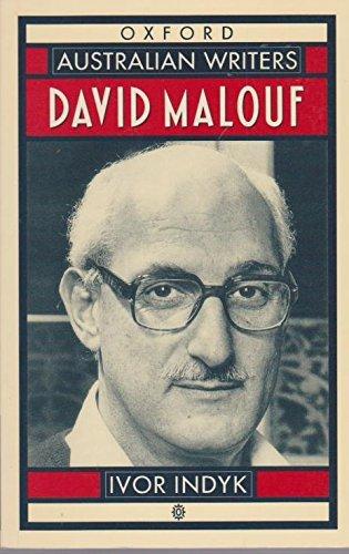 9780195533217: David Malouf
