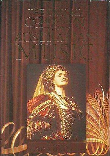 The Oxford Companion To Australian Music: Bebbington, Warren (ed)