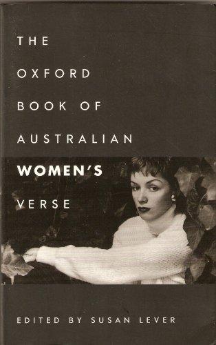 9780195535051: The Oxford Book of Australian Women's Verse (Oxford Books of Verse)