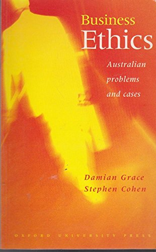 9780195537383: Business Ethics: Australian Problems and Cases