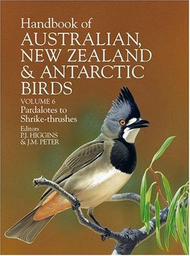 9780195537628: Handbook of Australian, New Zealand and Antarctic Birds: Volume 6: Pardalotes to Shrike-trushes