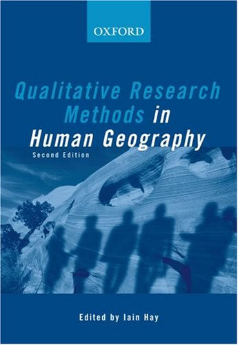 9780195550795: Qualitative Research Methods in Human Geography