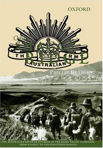 9780195551006: On Shaggy Ridge: The Australian Seventh Division in the Ramu Valley: From Kaiapit to the Finisterres (The Australian Army History Series)