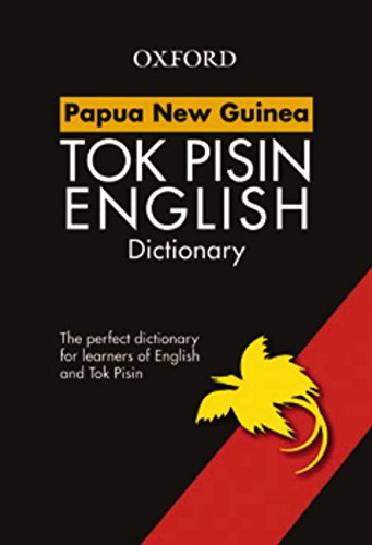 9780195551129: Papua New Guinea Study Dictionary Tok Pisin