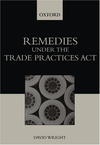 9780195551235: Remedies under the Trade Practices Act