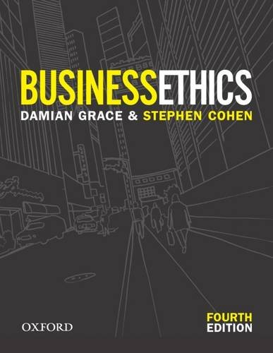 9780195551365: Business Ethics