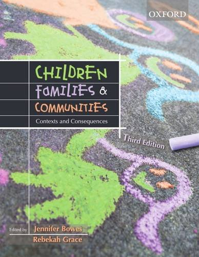 9780195551549: Children, Families and Communities: Contexts and Consequences