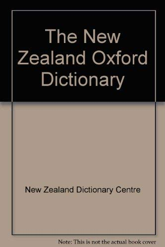 9780195553055: New Zealand Oxford Dictionary