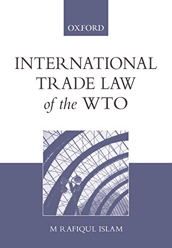 9780195553284: International Trade Law of the WTO