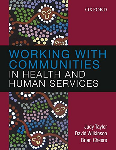 Working with Communities in Health and Human: Taylor, Judy; Cheers,