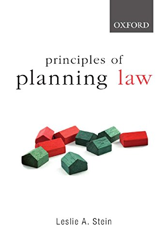 9780195558630: Principles of Planning Law