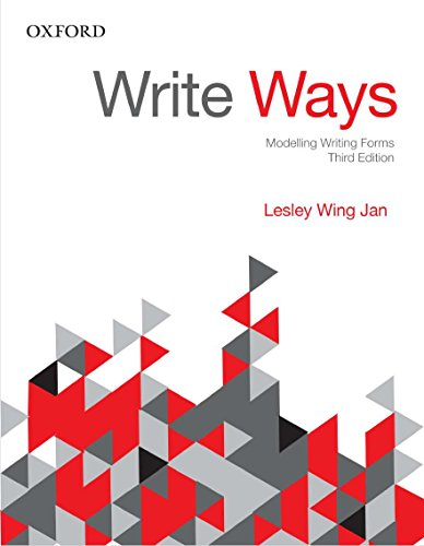 Write Ways: Modelling Writing Forms (0195559118) by Wing Jan, Lesley