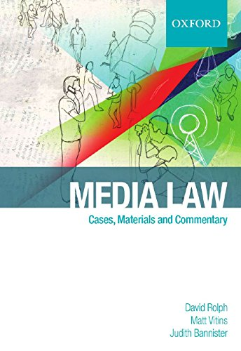 9780195559132: Media Law: Cases & Commentary