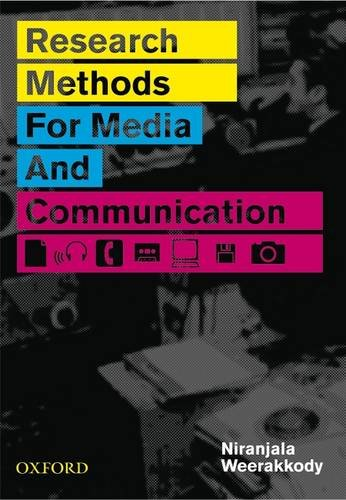9780195560442: Research Methods for Media and Communication