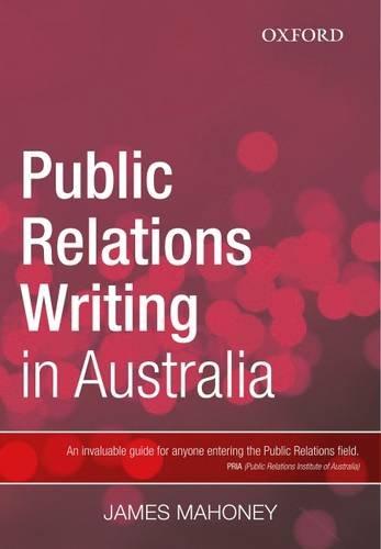 9780195561074: Public Relations Writing in Australia