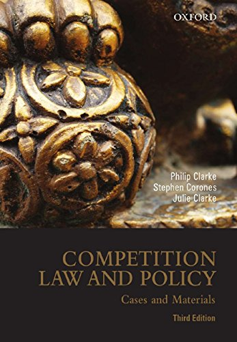 9780195562897: Competition Law and Policy: Cases and Materials, 3rd edition