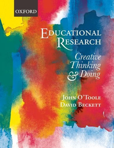 9780195565478: Educational Research: Creative Thinking and Doing