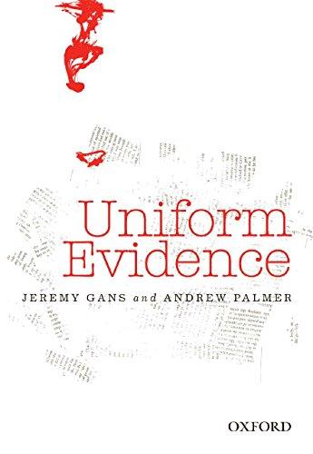9780195567298: Uniform Evidence