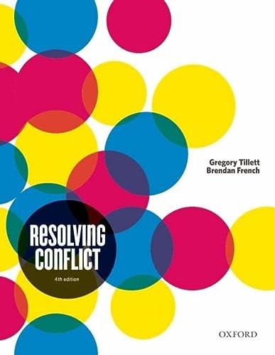Resolving Conflict: Tillett