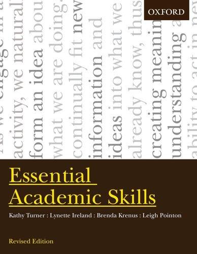 Essential Academic Skills: Turner, Kathy; Ireland,