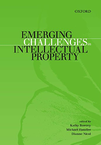 9780195575125: Emerging Challenges in Intellectual Property