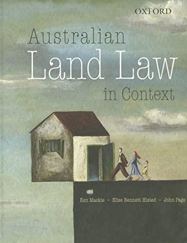9780195575712: Australian Land Law in Context