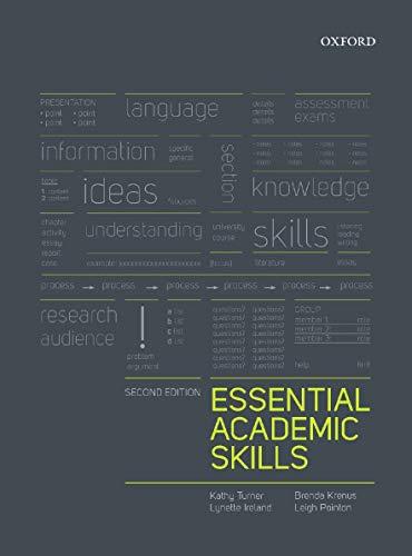 9780195576054: Essential Academic Skills 2e