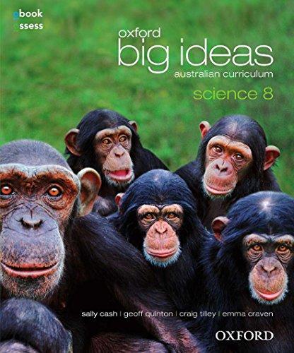 Oxford Big Ideas Science 8 Australian Curriculum Student book + obook assess (Paperback): Sally ...