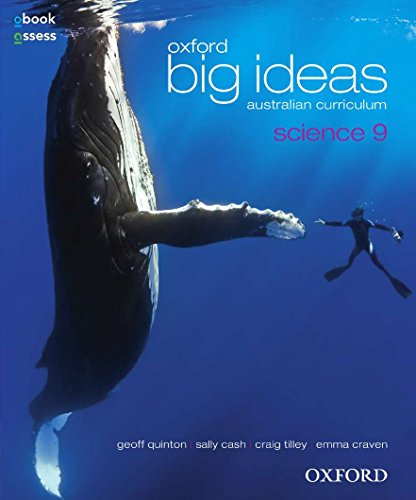 Oxford Big Ideas Science 9 Australian Curriculum Student book + obook assess (Paperback): Sally ...