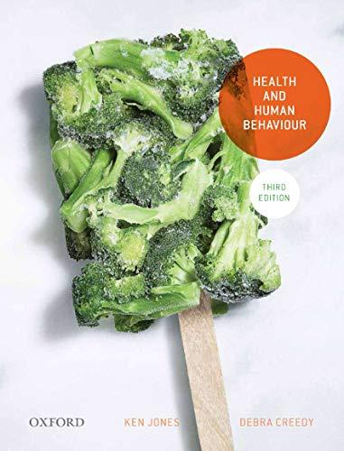 9780195577259: Health and Human Behaviour, Third Edition