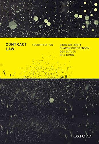 9780195578461: Contract Law, Fourth Edition